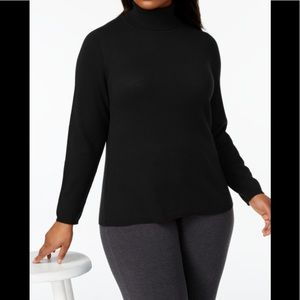 2 ply cashmere charter club Turtleneck sweater XL